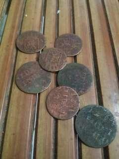 Uang Kuno Nederl Indie Uang Koin Indonesia Zaman Belanda Barang Antik Langka Tahun 1800an