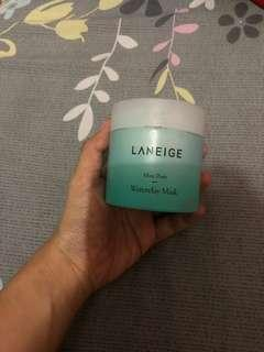 Laneige water clay mask