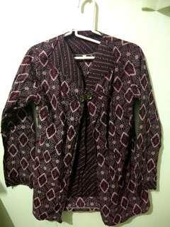 Batik Maroon