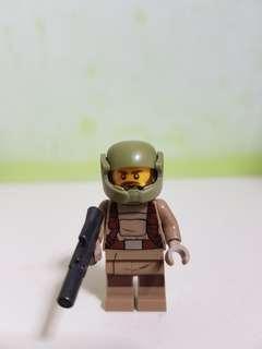 AUTHENTIC LEGO STARWARS resistance trooper figurine