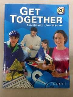 🚚 Get together 英語學習原文書和習作本 學英文 英文課本 learning English
