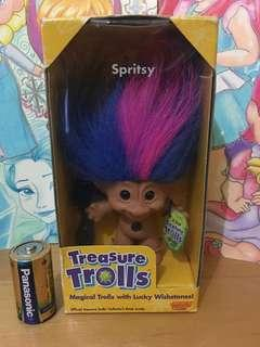 Vintage trolls 6inches