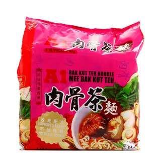 马来西亚肉骨茶面 4包装