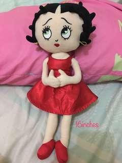 Betty boop 16inches