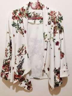 Summer Outer White Flowers