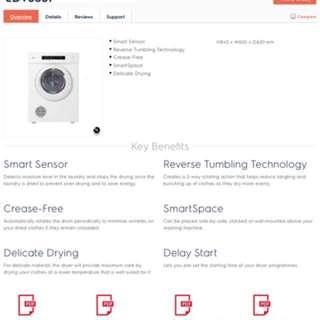 Electrolux -6051 tumble dryer