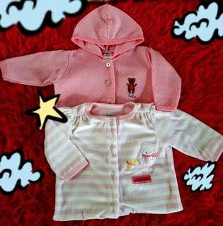 """""""baby hooded footed pajamas"""""""