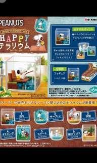 日本代購 各式re-ment snoopy 史努比食玩玩具擺設