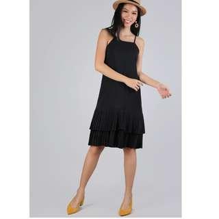 TTR darlene pleated dress