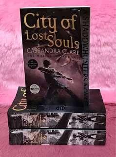 Mortal Instruments City of Lost Souls (Book 5) by Cassandra Clare