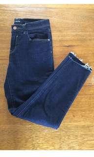 ASOS skinny ankle crop jean