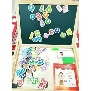 3 Y.O+ PINYIN MAGNETIC BOARD LETTERS
