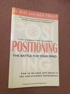 Positioning: the marketing classic