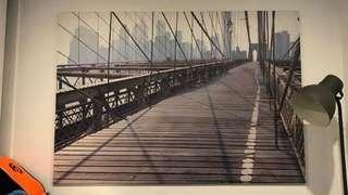 Brooklyn Bridge print (extra large)