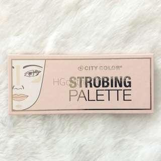 Sale! City Color Strobing Palette Highlighter Authentic Original from USA