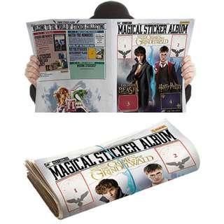 Harry Potter and Fantastic Beasts Magical Sticker Album