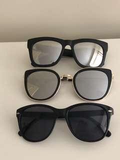 Women's 3x sunglasses bundle