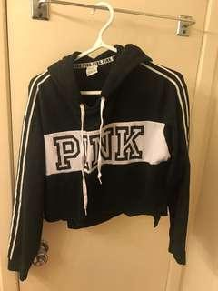 PINK crop sweater (S)
