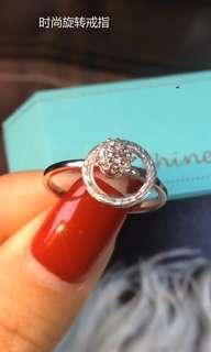 鑽石戒指自動旋轉Diamonds Ring