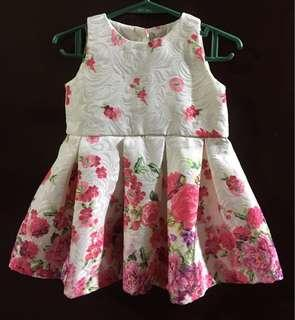 Peppermint Baby Floral Dress