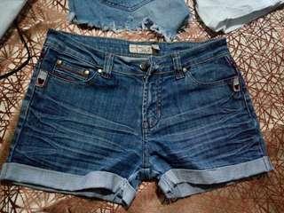 Ksa blue denim short