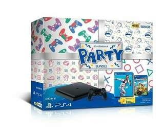 [New] PS4 Slim 500GB Party Bundle Fifa 19