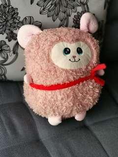 Fuzzy sheep 30cm height - stuffed toy