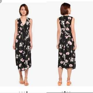 BNWT Warehouse tie back dress