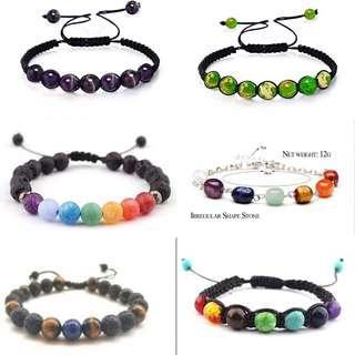 Different style bracelet ,Free Postage