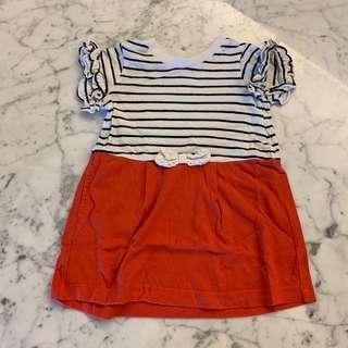 Apres les course striped dress