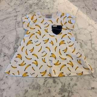 Lee banana dress