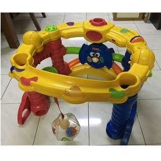 Fisher Price Playzone baby and toddler Crawl n Cruise playground