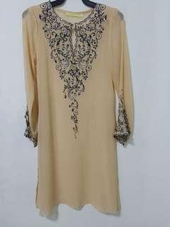 Beige blouse