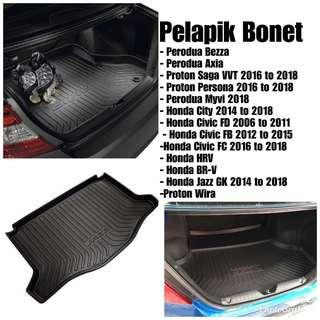 Pelapik bonet / Boot tray