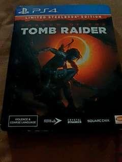 PS4 Shadow Of The Tomb Raider (Limited Edition Steel Book)