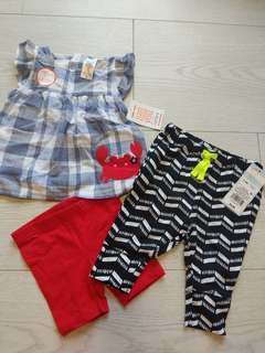 Baby Clothing Smart Target Baby Girls Jeans Long Pants Size 0 Bnwt