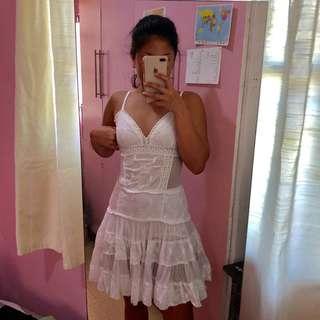 White dress (sun dress or beach dress)