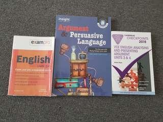 English Resources VCE
