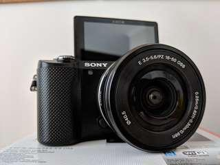 Sony A5000 16-50mm Power Zoom Lens Kit
