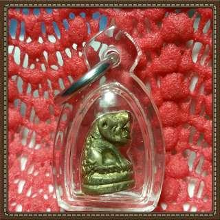 Thai Amulet tiger wat not