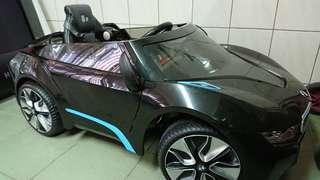 BMW-I8 兒童電動車W480QHG 雙驅雙馬達 緩起步更安全 搖控自駕皆宜 生日禮物 聖誕節 耶誕禮物toy car