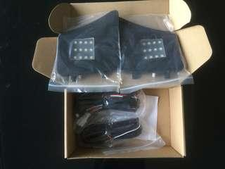 Toyota harrier add on boot lamp