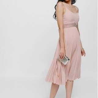 Love Bonito Heana Pleated Dress