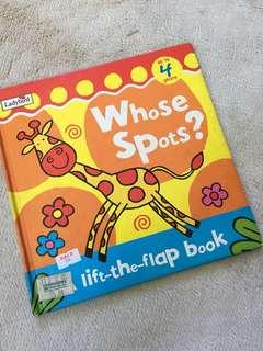 Whose Spots? Lift the flap book