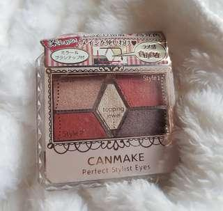 Canmake perfect stylist eyes (14 Antique Ruby)