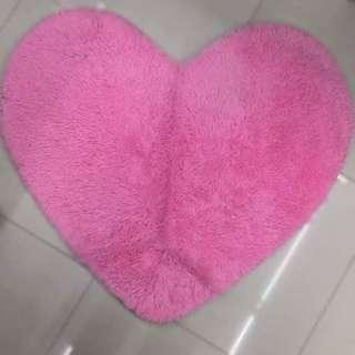Heart Shaped Carpet