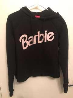 Cropped Barbie Hoodie