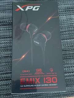 Headphone XPG Emix 130 5.2 surround in ear gaming headset