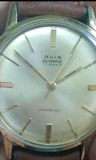 Vintage watch AVIA manual wind Swiss