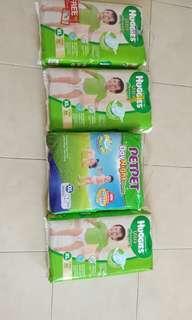 Huggies Tape Diaper and Pet Pet Pants Diaper